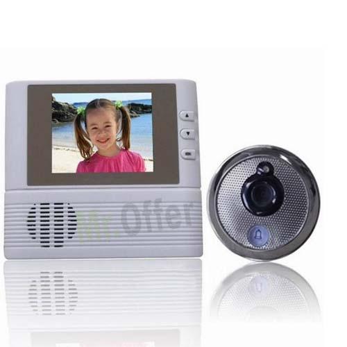 con monitor registratore telecamere spioncini digitali per porte con ...
